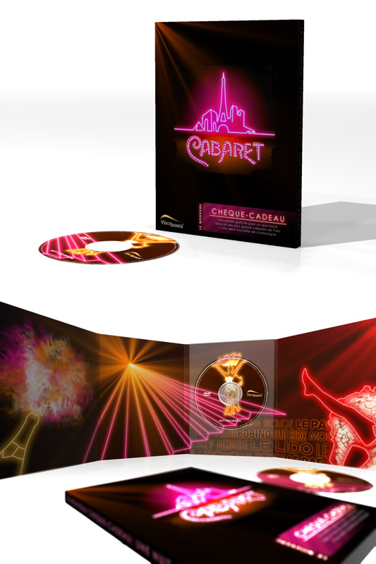 "Packaging Vivabox ""Soirée Cabaret"""